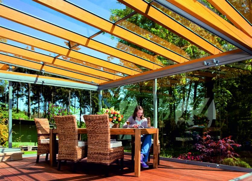 TerrassenUberdachung Holz Statik ~ Ungedämmte Holz Aluminium Systemprofile mit innenliegender Statik
